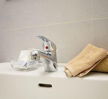 hotel cesenatico bagno rubinetto