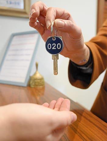hotel cesenatico chiavi camera