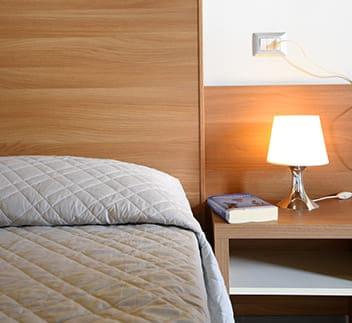 hotel cesenatico cuscino comodino