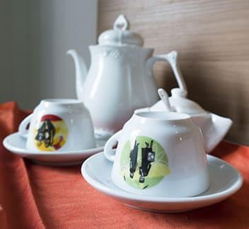 hotel cesenatico set da tè